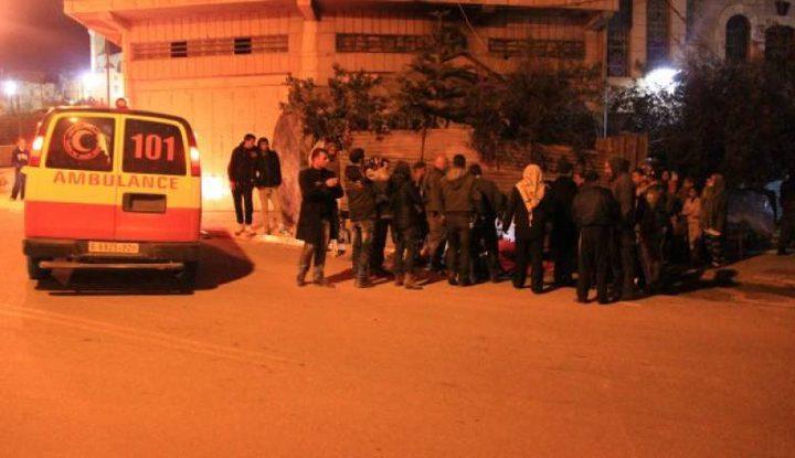 إصابة أربعة مواطنين بحادث سير قرب نابلس