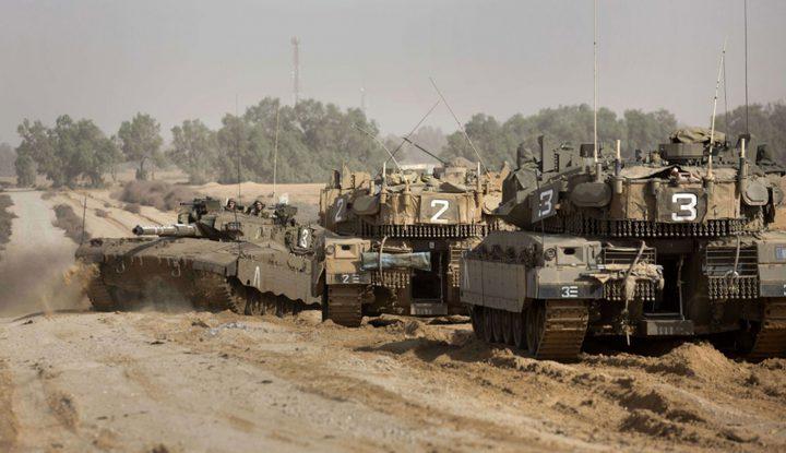 توغل محدود لقوات الإحتلال شمال القطاع