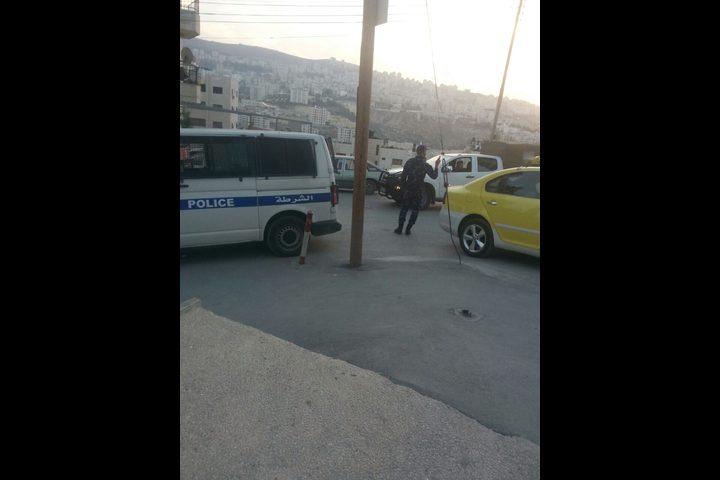 بالصور: وقوع شجار عائلي في نابلس