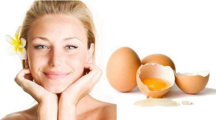 قناع البيض.. لتحاربي ترهل الجلد والجفون