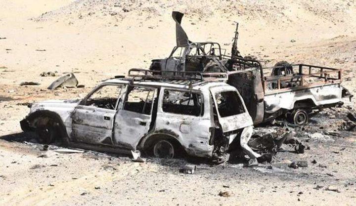 """الجيش المصري يدمر أوكار """"إرهابيين"""" في سيناء"""