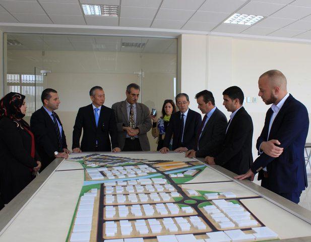 لقاء شراكة ياباني فلسطيني في مدينة أريحا الصناعية الزراعية