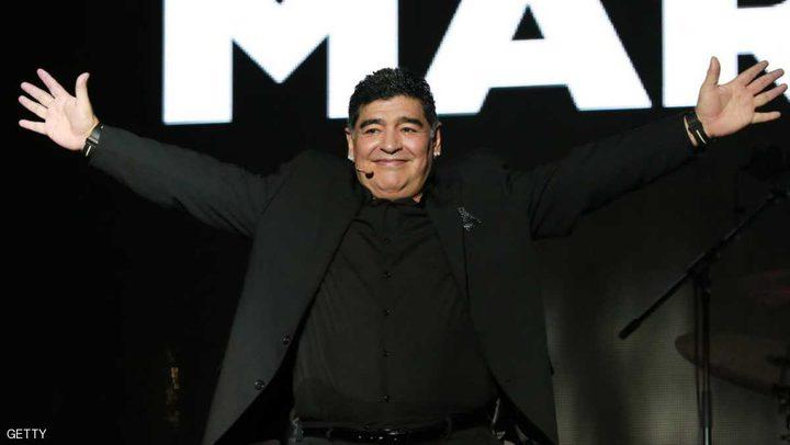 """مارادونا """"عينه"""" على منتخب الأرجنتين"""