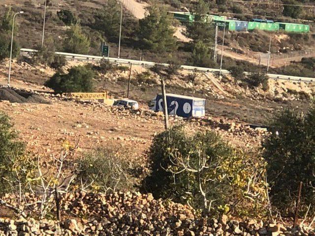 مواجهات بين قوات الاحتلال والشبان في قرية النبي صالح