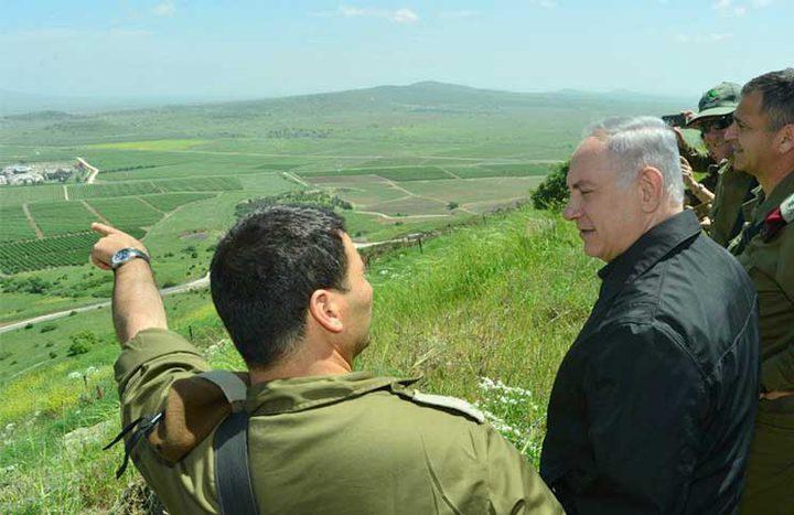 مسئولون أمنيون أمريكيون يناقشون الحدود السورية في اسرائيل