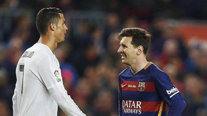 رونالدو يهاتف ميسي: أنا أفضل لاعب في العالم