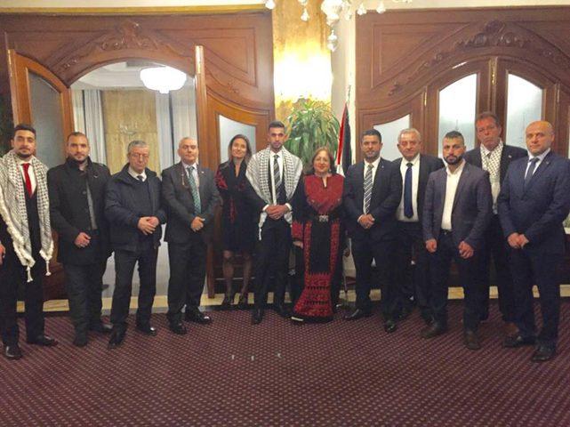 سفارة فلسطين في إيطاليا تحتفل بذكرى الاستقلال