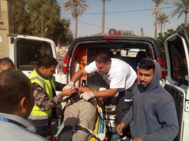 إصابة خطيرة في حادث سير في أريحا