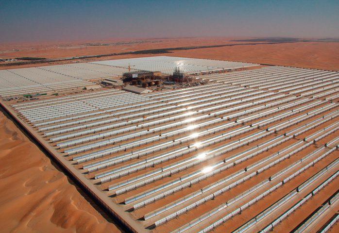 الموافقة على انشاء أكبر مصنع للطقاة الحرارية الشمسية