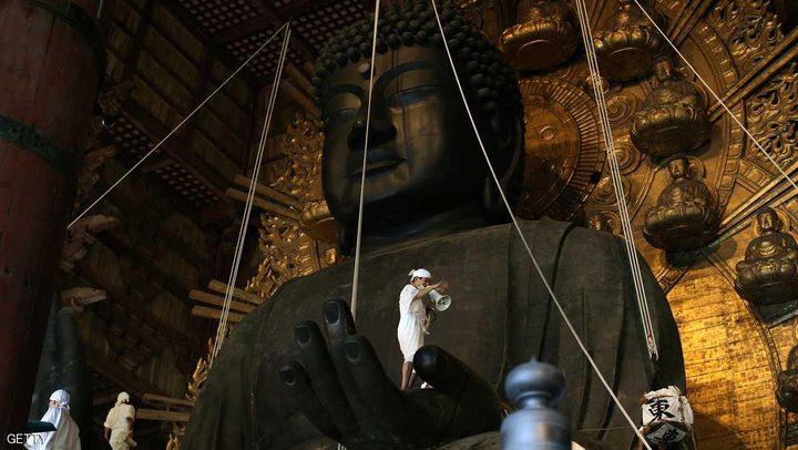 """بعد 2500 عام.. العثور على """"بقايا بوذا"""" في الصين"""