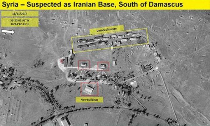 الإحتلال يزعم رصد قاعدة إيرانية