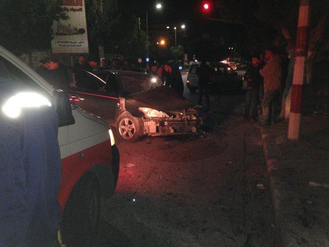 إصابة ستة مواطنين بحوادث سير في نابلس
