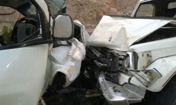 مصرع مواطنين جراء حادث تصادم بالنقب