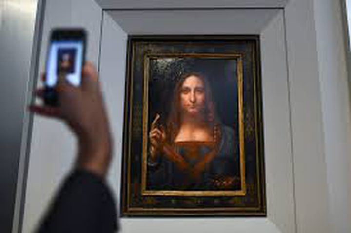 تقديرقيمة لوحة لليوناردو دافنشي ب بـ100 مليون دولار