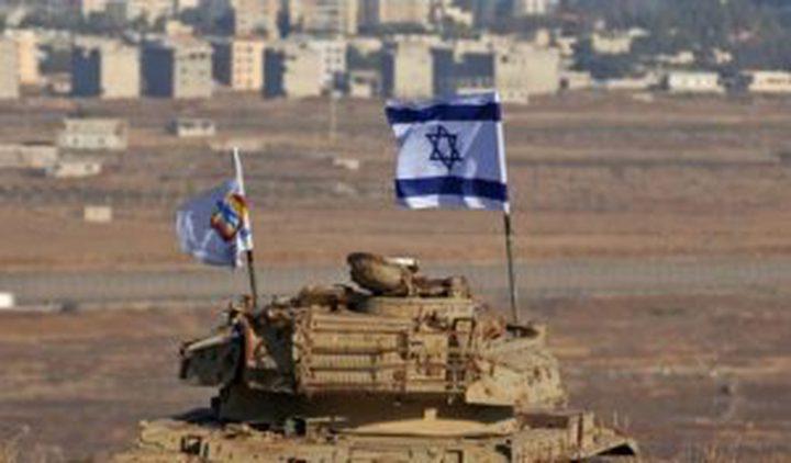 جيش الاحتلال يقصف موقعاً عسكرياً سورياً