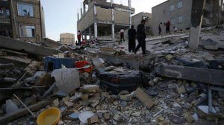 هزة أرضية جديدة على الحدود الإيرانية العراقية