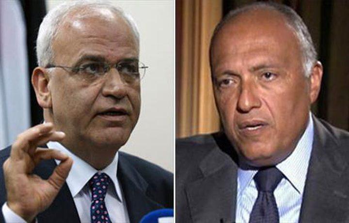 الخارجية المصرية: سنحاول بكافة السبل إبقاء الاتصال بين السلطة الفلسطيينة وأمريكا