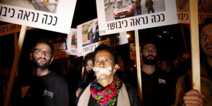 """""""كسر الصمت"""": المدعي العام الإسرائيلي يكمم أفواه منتقدي الجنود"""