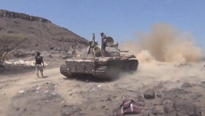 الجيش اليمني يتقدم نحو أرحب بغطاء جوي من التحالف
