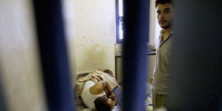 المعتقل المصاب كرجة ما يزال في قسم العناية المكثفة