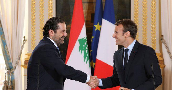 """الرئاسة الفرنسية تدرس إمكانية اجتماع لـ""""مجموعة دعم لبنان"""""""
