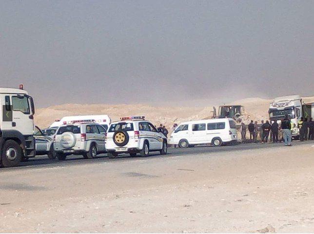 حادث مروّع يودي بحياة 5 أردنيين (صور)