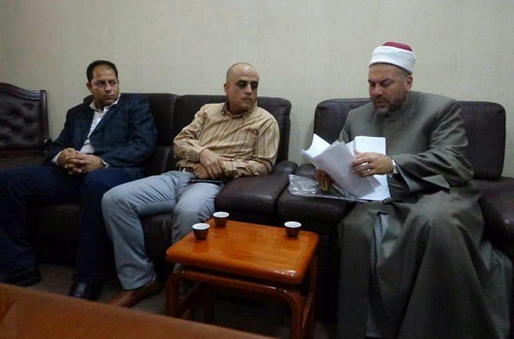 لجنة من ديوان الموظفين العام تبدأ بتسجيل وحصر موظفي المعاهد الأزهرية في فلسطين