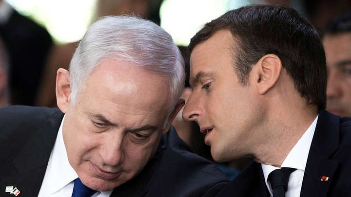 نتنياهو وماكرون يبحثان أزمة استقالة الحريري وإيران