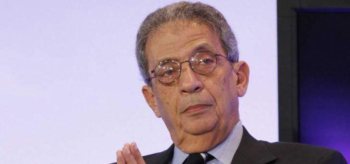 عمرو موسى: لن أترشح للإنتخابات الرئاسية