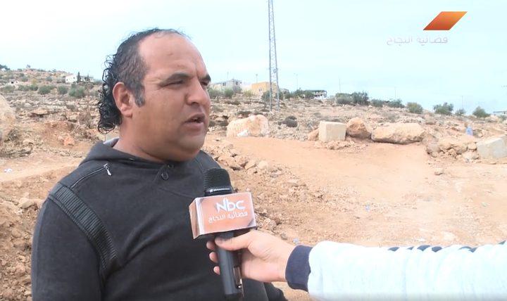 """قوّات الاحتلال تعترض فتح """"سدة قلقس"""" الواقعة جنوب مدينة الخليل (فيديو)"""
