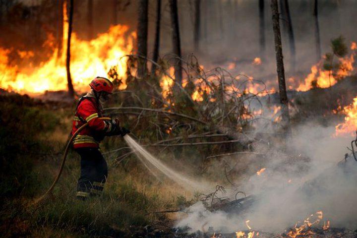 25 حادث حريق وإنقاذ خلال يوم واحد