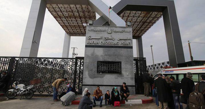 صحيفة مصرية: تمديد فتح معبر رفح حتى مساء الأربعاء