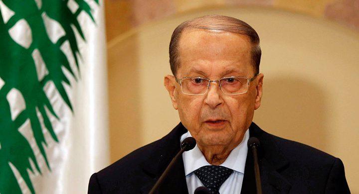 الرئيس اللبناني: إسرائيل تنتهك سيادة لبنان بشكل مستمر