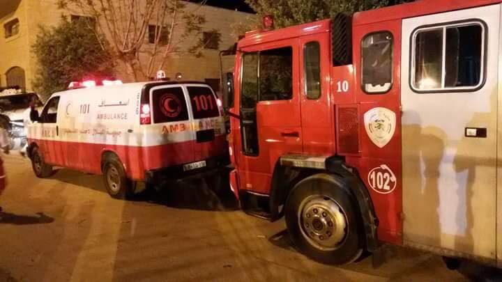 مناشدة من إطفائية بلدية نابلس