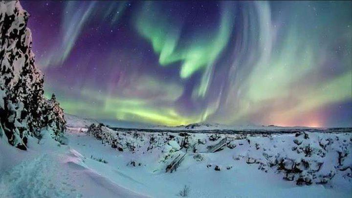 ظاهرة غريبة تضيء سماء فنلندا