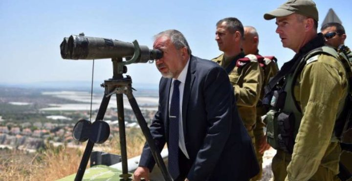 ليبرمان: الوضع على الحدود مع قطاع غزة ما زال متوتراً