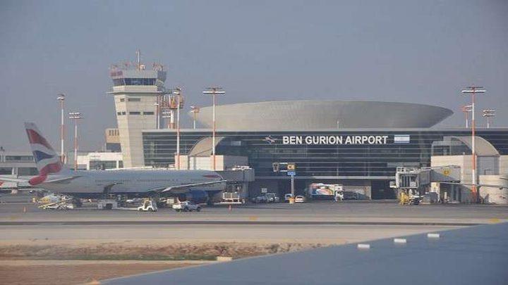 """الإحتلال يشرع بتدريبات عسكرية في مطار """"بن غريون"""""""