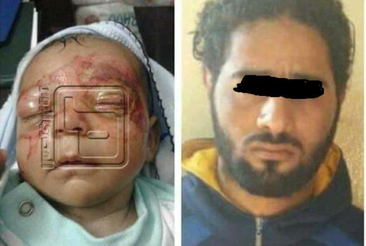 رجل يضرب طفلته الرضيعة لعدم رغبته بإنجاب البنات