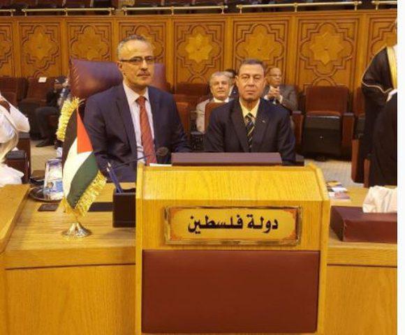أبو دياك يطلع نظرائه العرب على انجازات قطاع العدل الفلسطيني