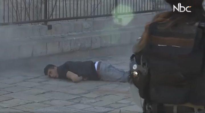عقوبة إعدام الجرحىالفلسطينيين (فيديو)