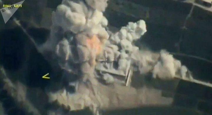 """قاذفات استراتيجية روسية تقصف مواقع لتنظيم """"داعش"""" شمال شرقي سوريا"""