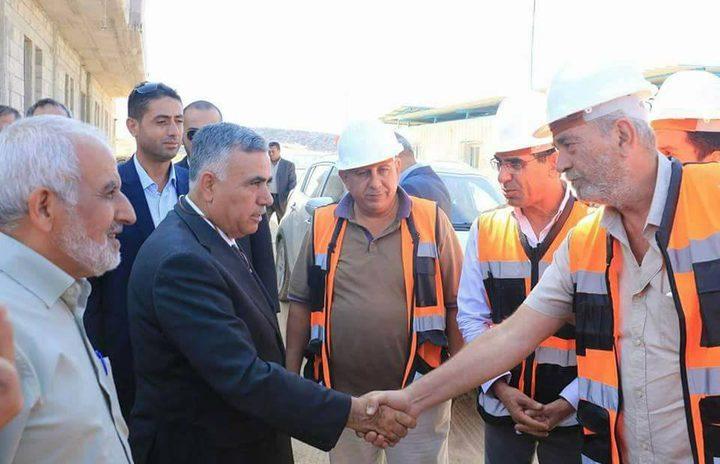 وضع حجر الأساس لثلاثة مشاريع حيوية في بلدة عجة