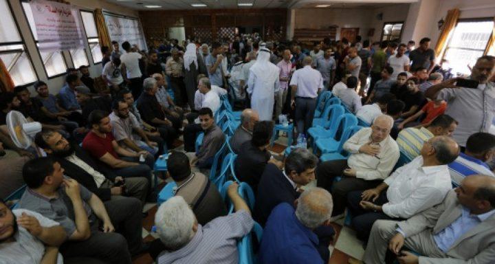 """غزة تقيم """"بيت عزاء"""" لضحايا الهجوم الإرهابي شمال سيناء"""