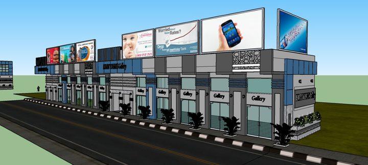 بلدية خان يونس تشرع بإنشاء مجمع تجاري بالكراج المركزي للسيارات