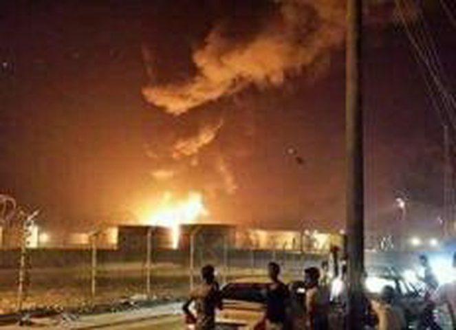انفجار عنيف يهز خور مكسر في عدن