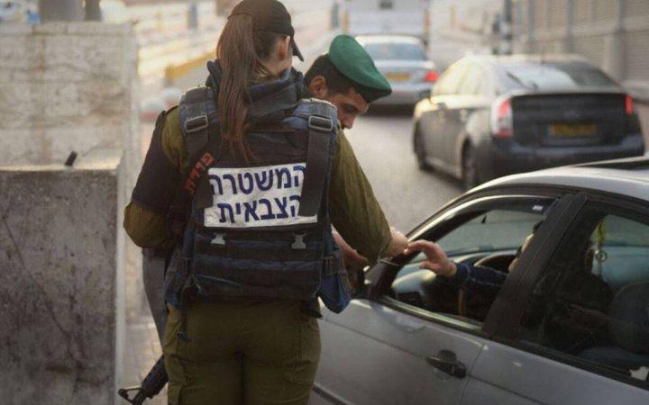 اسرائيل تغلق كافة المعابر مع الضفة الغربية ابتداءاً من غد الاربعاء