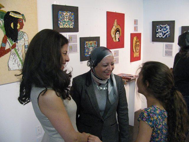 فعاليات اليوم العالمي للتضامن مع الشعب الفلسطيني يتضمن معرض لوحات في الاسكندرية