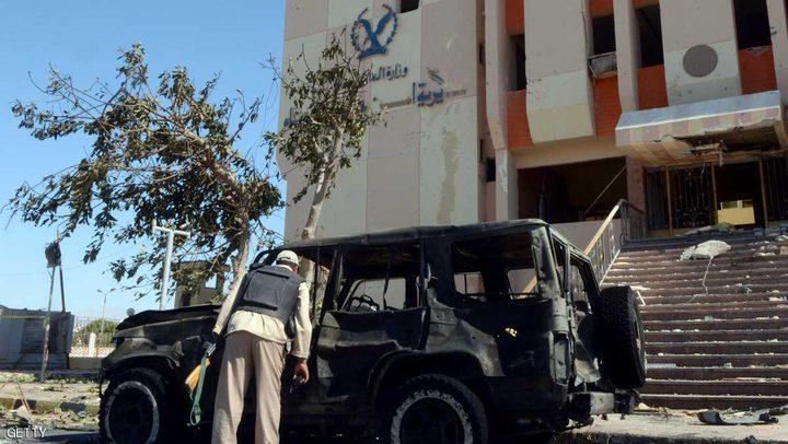 الجيش المصري يعلن ضبط مخزن أسلحة في سيناء