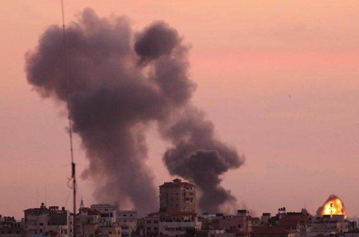 الاحتلال يستهدف غزة بسلسلة من الصواريخ وقنابل المدفعية والمقاومة ترد بالهاون