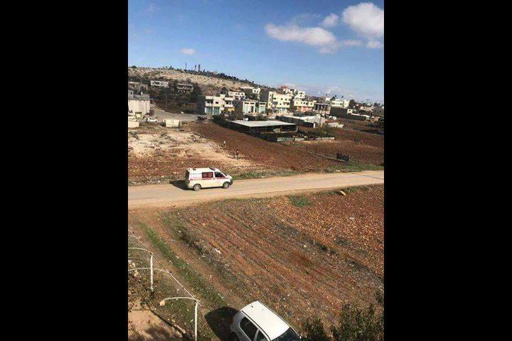 استشهاد مزارع برصاص مستوطن في قصرة (صور - فيديو - محدث)